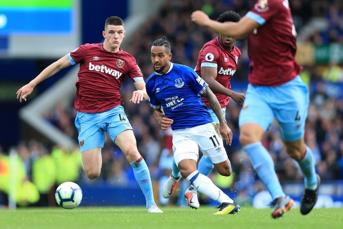 Everton beat West Ham 2-0 to end four straight games winless run in the Premier League