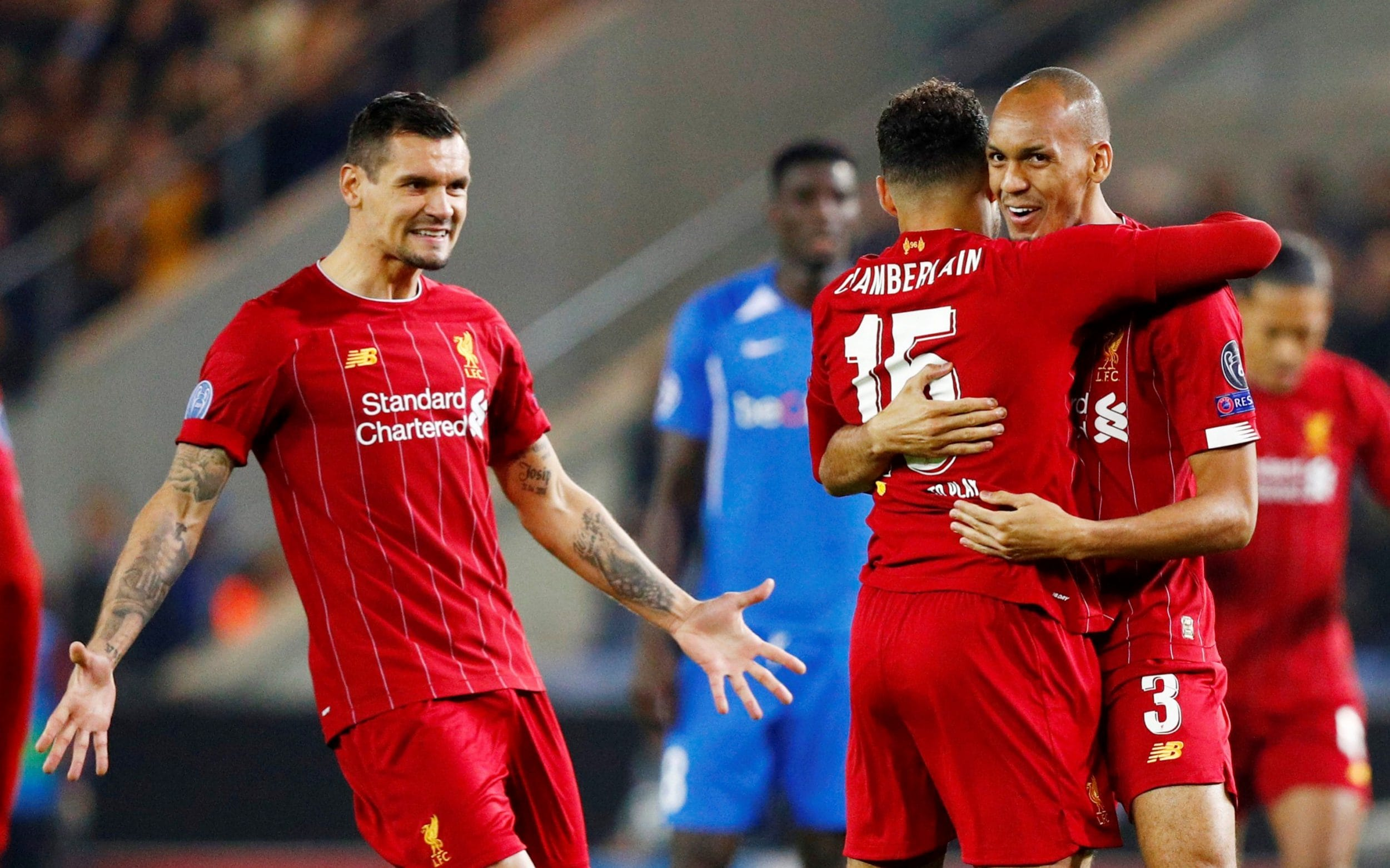 Liverpool end their poor show in away games of the Champions League as they thrash Genk 4-1 in Genk