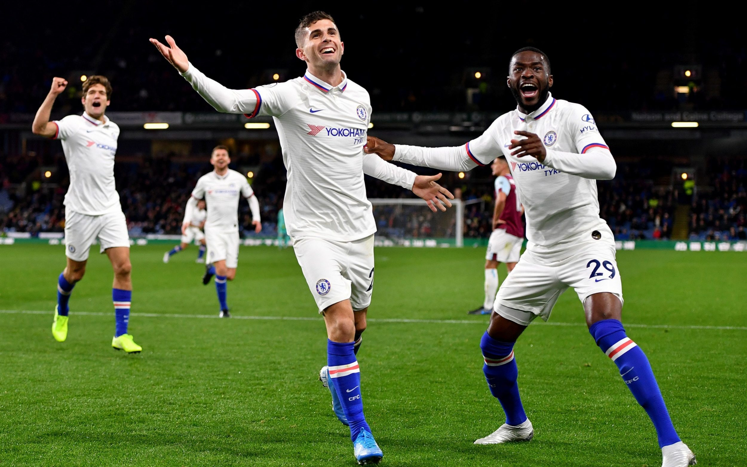 Burnley 2-4 Chelsea, Pulisic first ever career hat-trick, more about the game