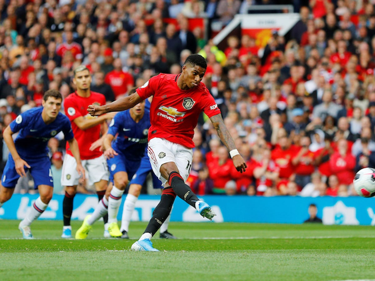 Marcus Rashford double against Chelsea sends Manchester United through to the quarters of Carabao Cup