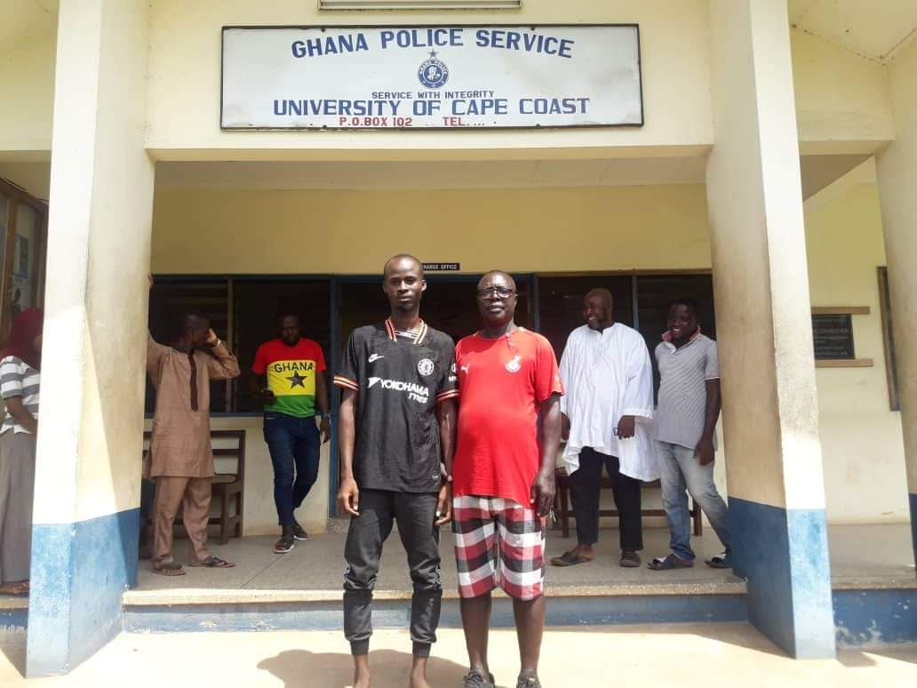 Ghana's pitch invader Awal Suleman released from police custody and receives heroic welcome