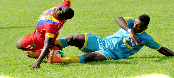 Hearts of Oak 1-1 Wa All Stars, club friendly, more about the game