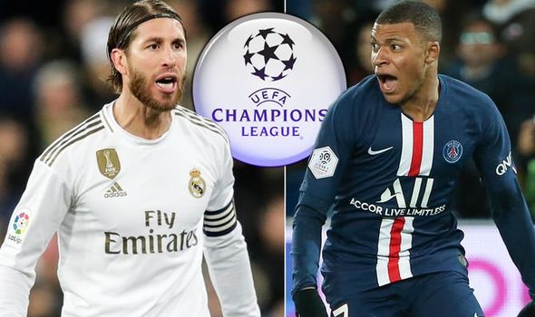 CHAMPIONS LEAGUE: Paris Saint-Germain fight back to deny Real Madrid victory after 2-2 draw at Santiago Bernabeu