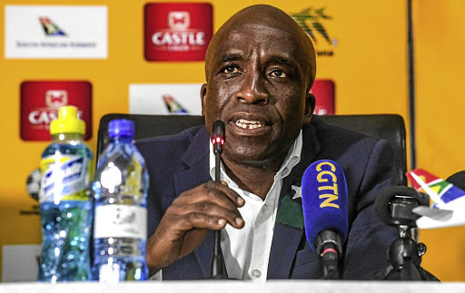 Ibrahim Tanko and David Notoane press conference ahead of Ghana-South Africa third-place clash
