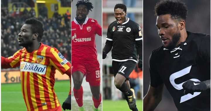 Ghana Players Abroad in Europe's big five Leagues, Minutes played, Assists and All Goals