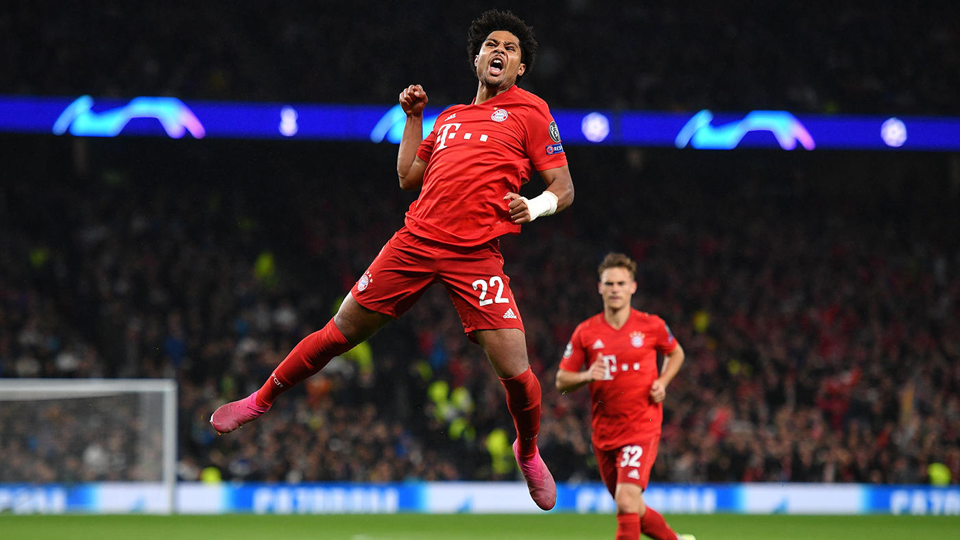 Bayern Munich maintain 100% record in Champions League after emphatically seeing off Tottenham in Allianz Arena