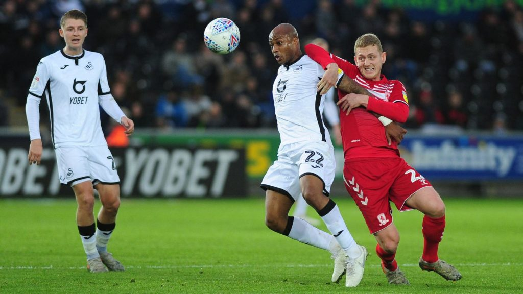Black Stars skipper Andre Ayew converts two penalties to end Swansea City six-game winless run in Championship