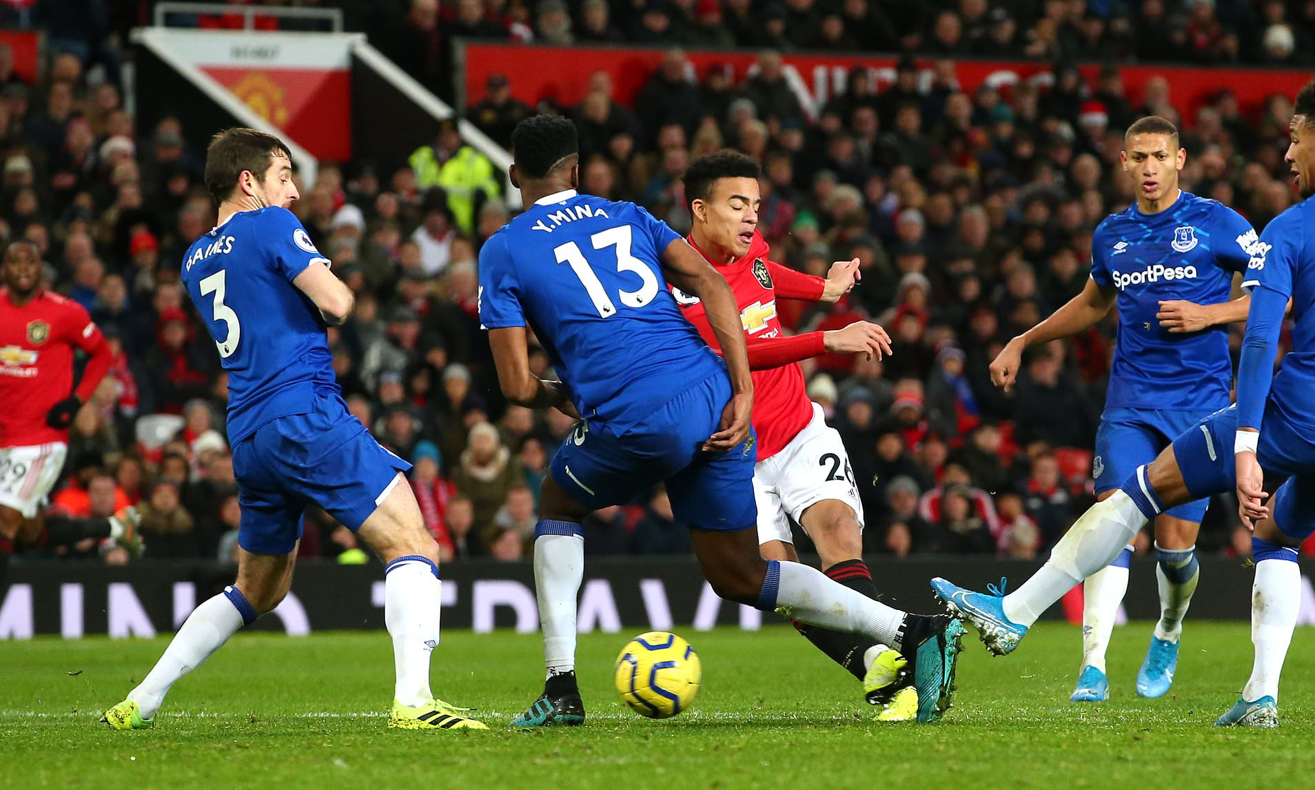 Greenwood second half strike salvage Manchester United from Everton defeat as the spoils shared at Old Trafford
