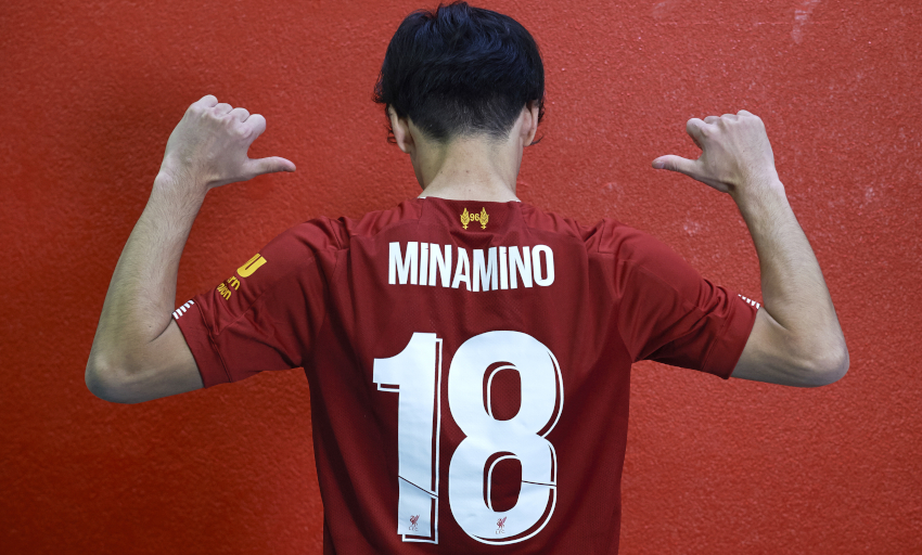 LIVERPOOL complete the signing of Red Bull Salzburg star Takumi Minamino, Player first words
