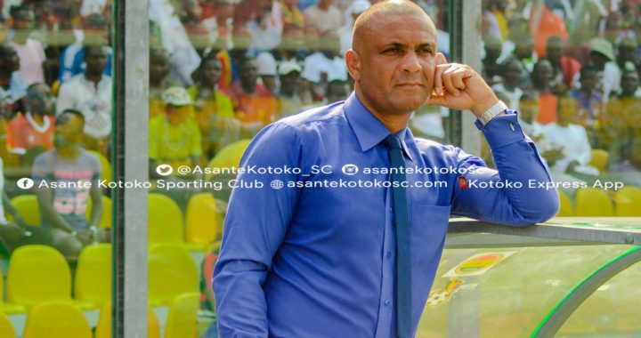 Boss Kim Grant believes Asante Kotoko first goal against Hearts in the Presidential Cup was an offside