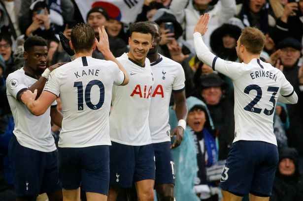 Tottenham come from behind to beat Brighton 2-1 on Boxing Day