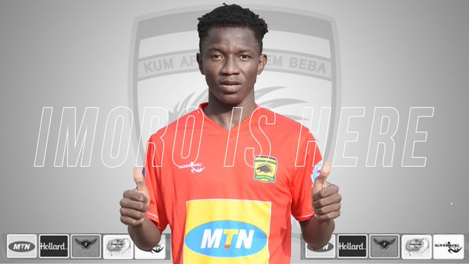 OFFICIAL: Asante Kotoko confirm the signing of Imoro Ibrahim from Thunder FC