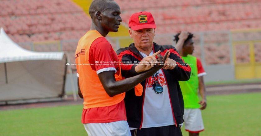Asante Kotoko request GFA Players' Status Committee to adjourned Kjetil Zachariassen dismissal case