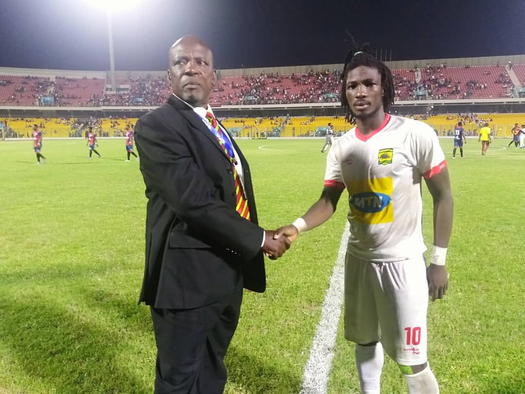 Kotoko striker Songne Yacouba clinches MOTM Award after Porcupine 3-1 fight back against Legon Cities FC