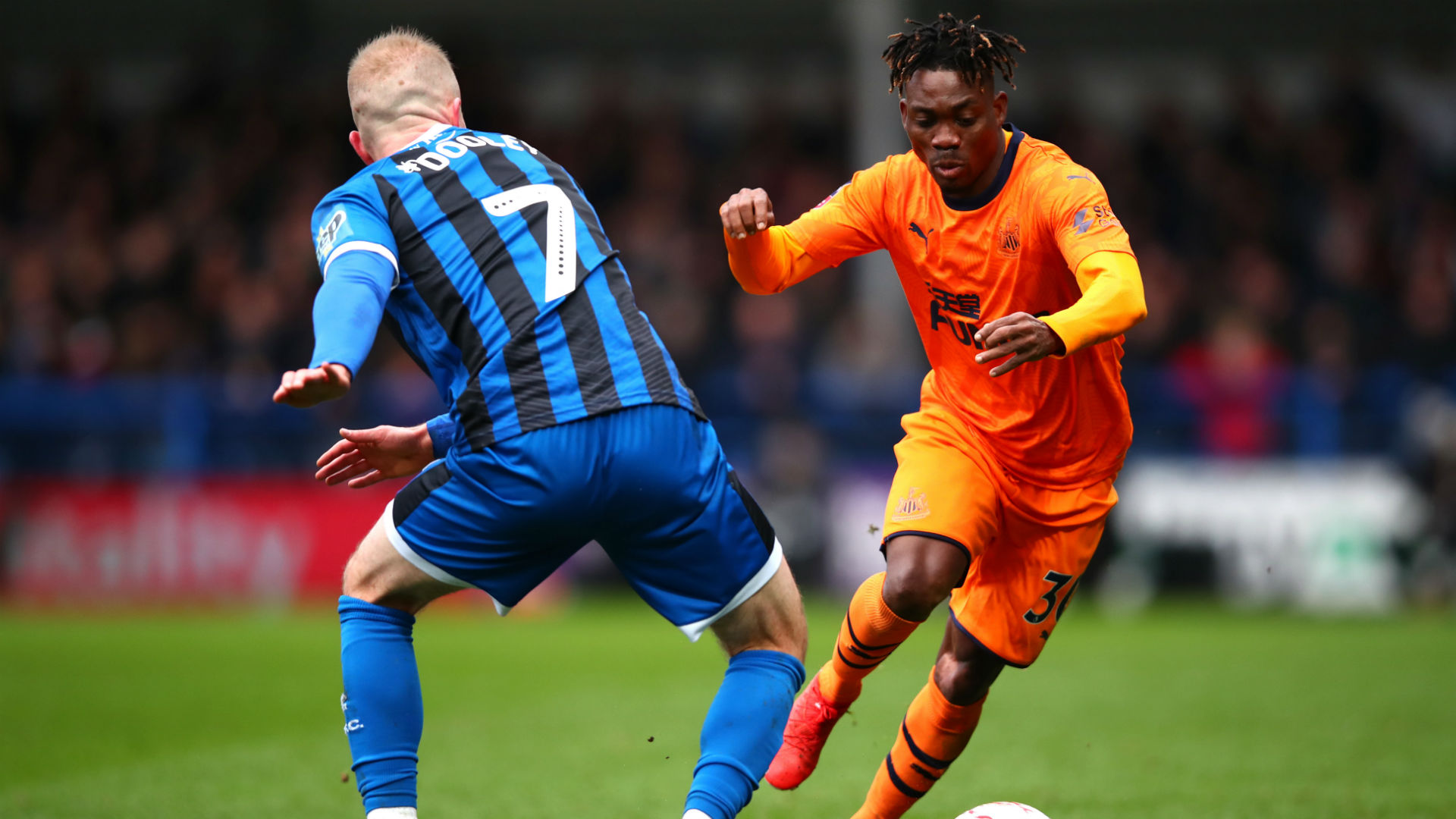 Christian Atsu registers assist following Newcastel's 1-1 draw against Rochdale in the FA Cup Third Round