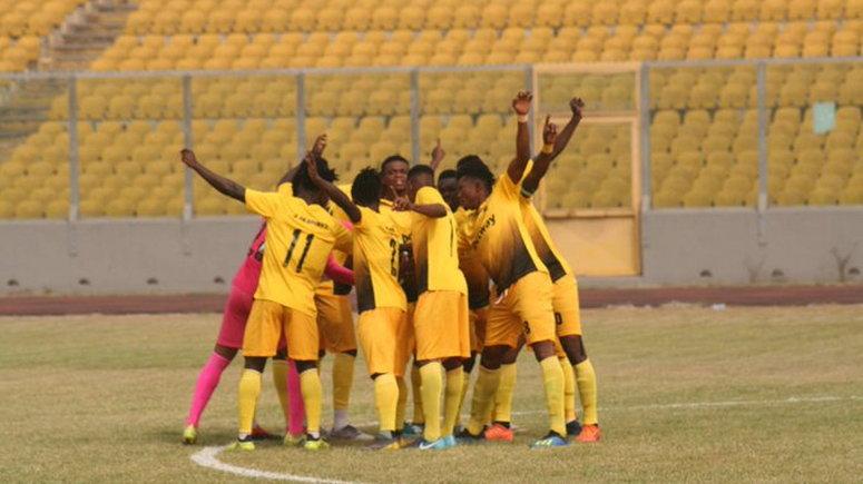 king faisal 0-1 Ashantigold Ghana Premier League, Mubarik Yussif lone goal