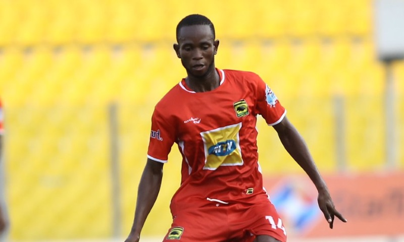 EXCLUSIVE: Asante Kotoko receives Richard Senanu injury boost as midfielder in last phase of rehabilitation, expected to return to action in February 2020