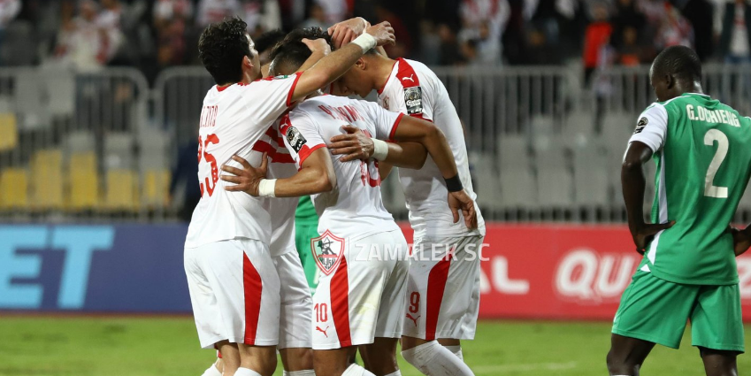 Zamalek beat ZESCO United 2-0 in Match Day four of CAF Champions League