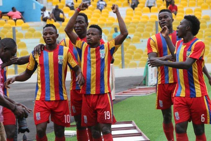 Joseph Esso and Kofi Kodzi double against Ebusua Dwarfs earn Hearts of Oak first Ghana Premier League victory