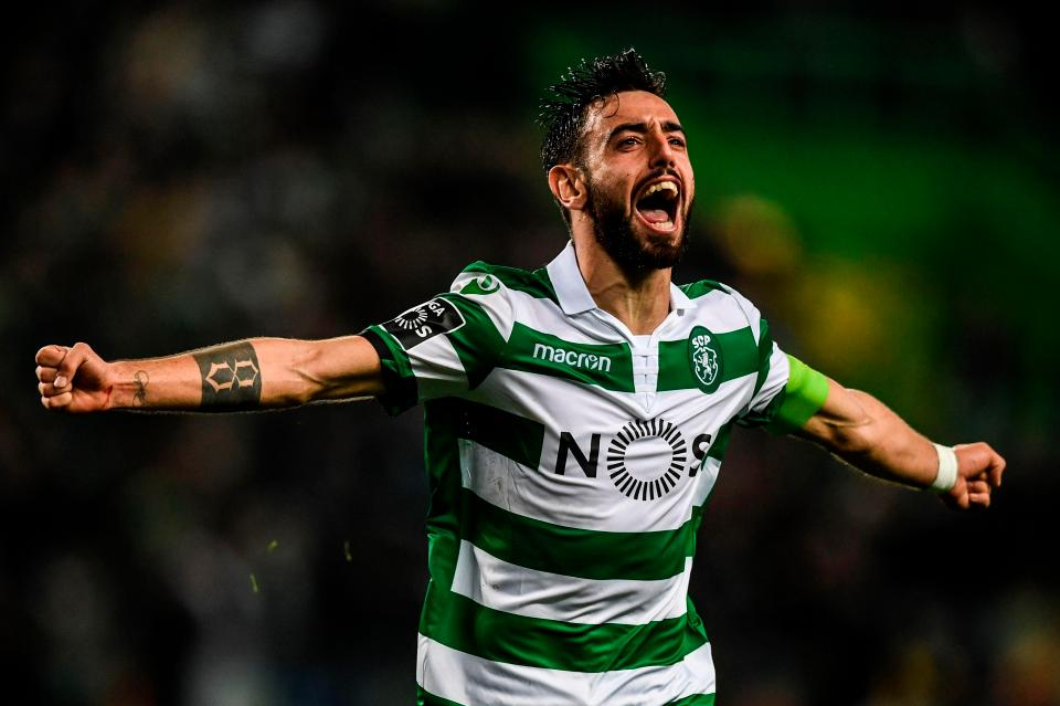 Manchester United move for Sporting Lisbon midfielder Bruno Fernandes on Jeopardy?