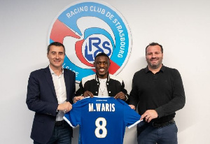 Majeed Waris first words in an interview with Strasbourg website after sealing his move from Porto to Meinau