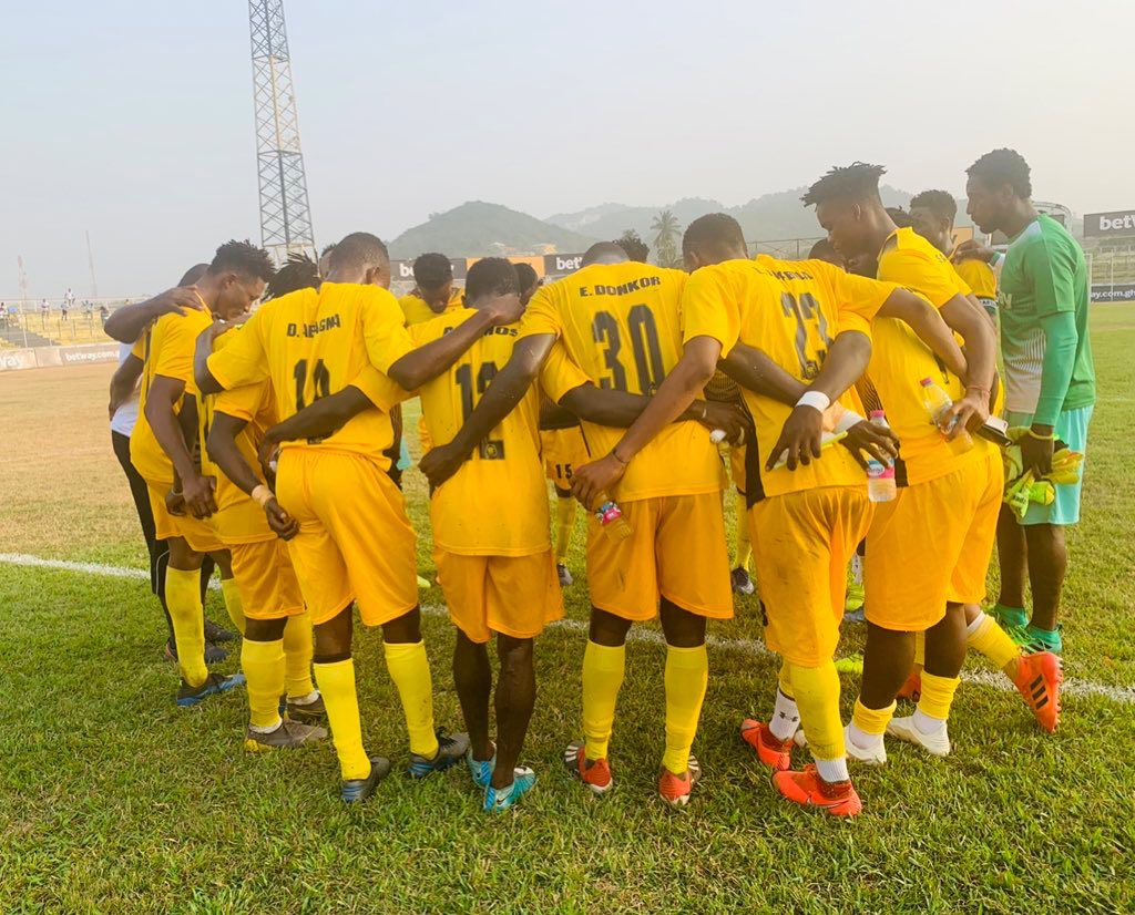 Miners Ash Gold enter MTN FA Cup with a tricky clash against lower division side Achiken FC