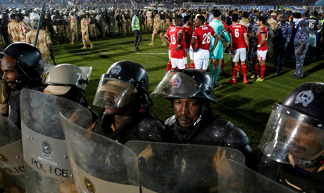 CAF impose sanctions on Sudanese giants Al Hilal over crowd pitch invasion in Champions League draw against Al Ahly