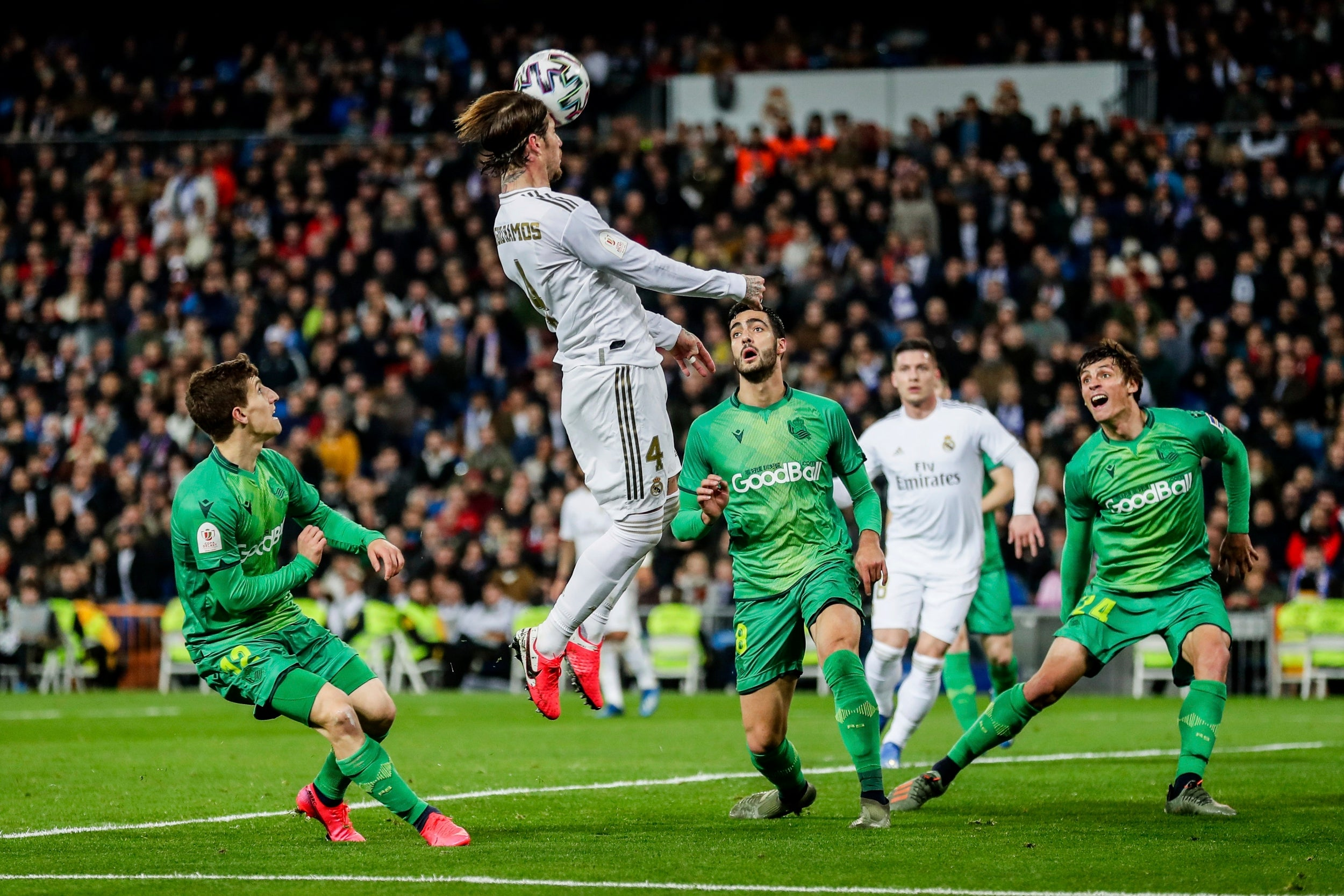 Real Madrid knocked out from Copa del Rey by Real Sociedad after La Real run away Santiago Bernabeu with a 3-4 victory in del Rey quarter-finals