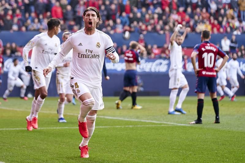 Real Madrid thrash Osasuna 4-1 to open six points gab off Barcelona on Laliga table