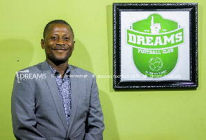Dreams FC assistant coach Wilfred Dormon not 'disappointed' in home defeat from Asante Kotoko