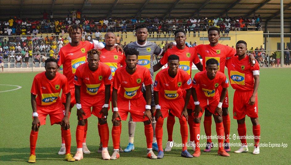 Asante Kotoko confirmed lineup vs Karela United, Ghana Premier League Week 13
