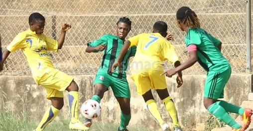 Women's League: Samaria Ladies succumbs narrowly to Police Ladies to end first quarter of the league