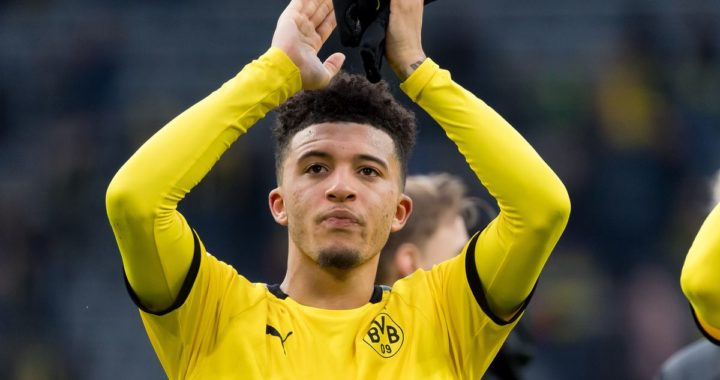Jadon Sancho could leave Borussia Dortmund in summer as representatives want move for ace in July