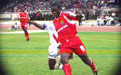 Charles Taylor labeled former German trainer Hans Dieter Schmidt as Kotoko's cause for CAF Confederation Cup defeat in 2004