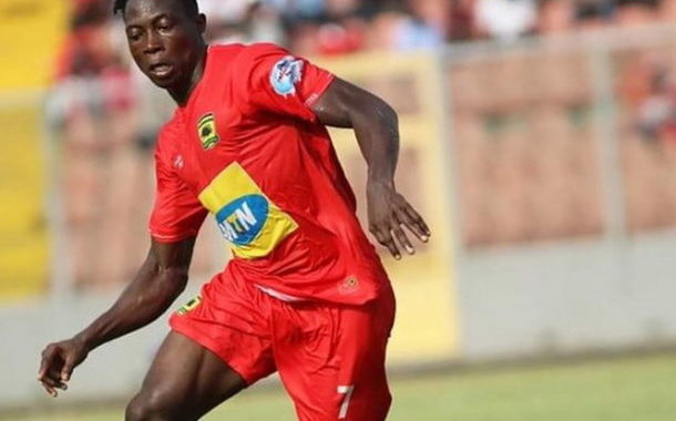 Justice Blay look up to Confederation Cup top scorer Eric Bekoe to build Kotoko legacy