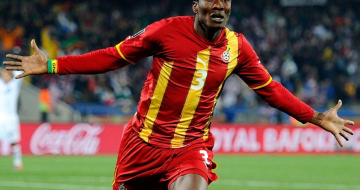 Asamoah Gyan sweating over African Cup of Nations success