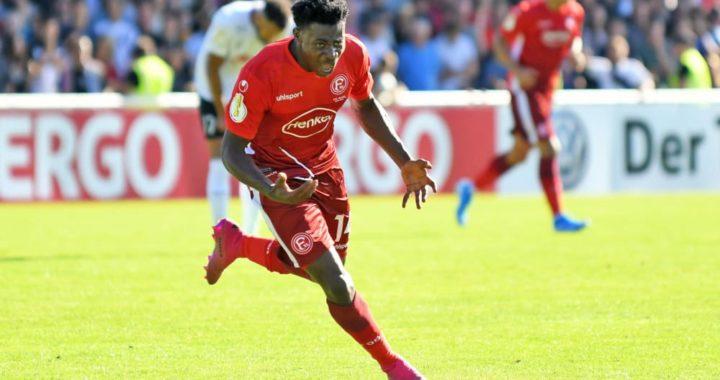 Ghana in Bayern Munich vs Fortuna Dusseldorf, Kelvin Ofori on bench, Kasim Nuhu missing and Bernard Tekpetey sideline