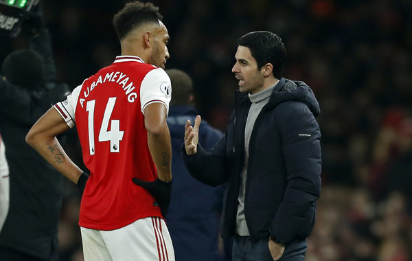 Mikel Arteta reportedly planning to hold personal talks with Pierre-Emerick Aubameyang amid contract extension