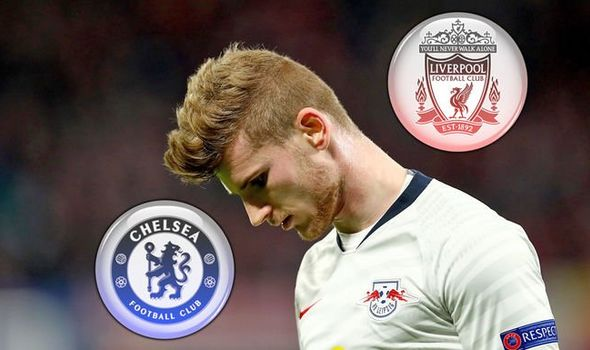 Liverpool have decided not to hijack Chelsea's move for RB Leipzig forward Timo Werner