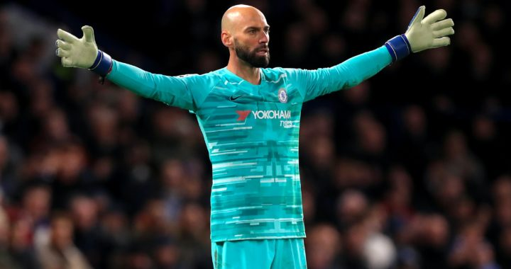 Chelsea Argentine keeper Willy Caballero sends Kepa Arrizabalaga transfer message to Frank Lampard