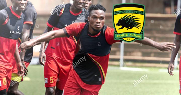 Asante Kotoko target from Uganda Mukwala confirms transfer talks