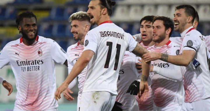 AC Milan beat Cagliari to extend Seria A lead as Zlatan Ibrahimovic returns with brace to make headlines