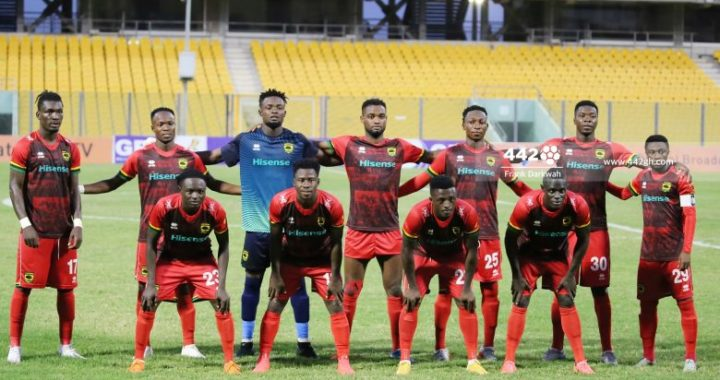 Asante Kotoko confirmed lineup vs WAFA as three changes made, Muniru Sulley, Gyamfi and Patrick Asmah start- Ghana Premier League 2020/2021