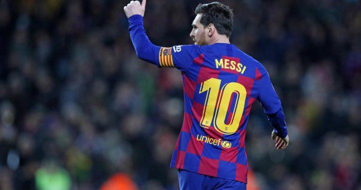 Paris Saint-Germain sporting director Leonardo makes 'great players like Messi claims amid interest in Barcelona Star