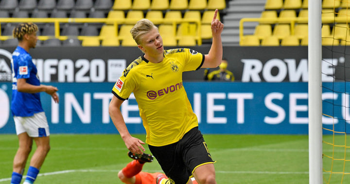 The three clubs battling to capture Erling Haaland from Borussia Dortmund
