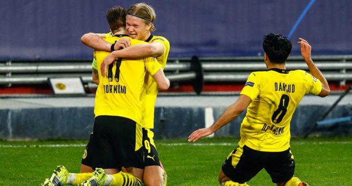 UEFA Champions League 2021: Haaland stars as Dortmund narrowly beat Sevilla 3-2 in Seville