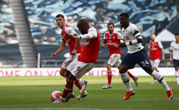 Lacazette penalty hand Arsenal 2-1 fight back in North London derby after Erik Lamela outrageous opener for Spurs