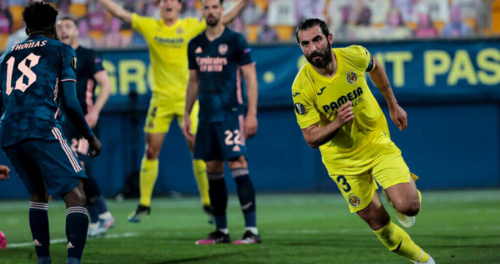 Arsenal come back from the dead against Villarreal to earn vital away goal in Europa League thriller