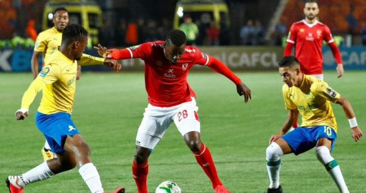 Al Ahly 2-0 Mamelodi Sundowns: Taher Mohamed and Salah Mohsen strikes sink Brazilians in Champions League quarter finals first leg as Mosimane men hold second leg advantage