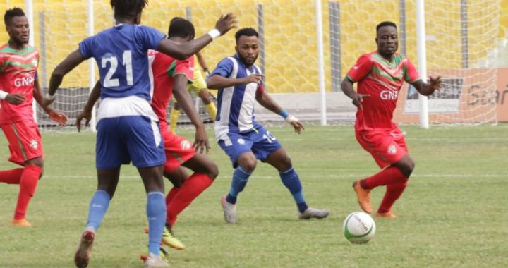 Karela United forced to home draw by Great Olympics as Accra based side keep hope in Ghana Premier League triumph alive
